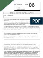 COP 3 Self Evaluation
