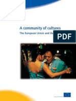 A Community of Cultures, The European Union and the Arts