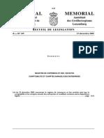 Loi 19 Décembre 2002