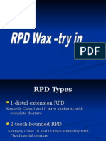 Wax Try-In of Removable Partial Denture_2