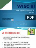 Uso de WISC III para problemas de aprendizaje