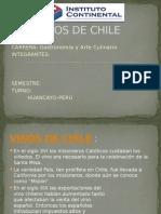 Vinos de Chile- historia - sepas