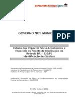 Relatório de Identificação de Clusters