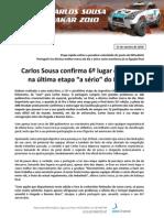 Press Carlos Sousa 10.01.15