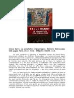 Steve Berry-La prophétie Charlemagne-Éditions Retrouvées