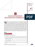 Religius Reform Movements in Modern INdia