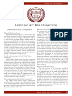 HNMUN 2015 Guide for First Time Delegatsions