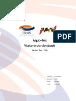 Water Woordenboek
