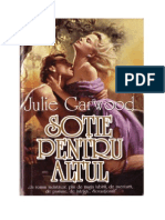 JULIE GARWOOD SOTIE PENTRU ALTU