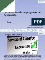 Tema 11 Herramientas de Un Programa de Fidelización
