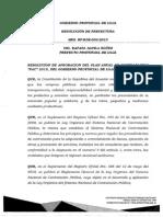 Resolución RP-RDE-002-2015