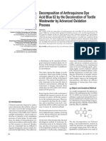 2003_J.Perkowski_Decomposition of anthraquinone dye acid blue 62 by the decoloration of textile wastewater by AOP.pdf