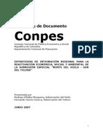 Documento CONPES Tolima-Huila
