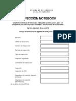 P16 Inspection NoteBook Español