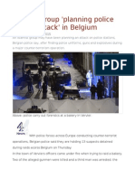 Islamist Group 'Planning Police Station Attack' in Belgium
