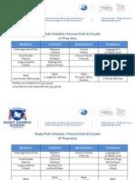 Study Clubs Second Semester 2015