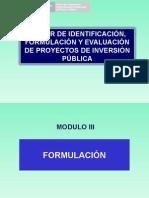 04 Modulo III Formulación