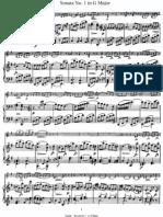 J.Haydn - Violin Sonata #1 in G Major