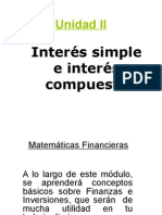 Interes Simple e Interes Compuesto
