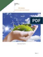 Mini Projeto Tecnologias Verdes Emergentes Pedro Silva A61733