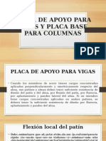 Placa de Apoyo Para Vigas y Placa Base Para Columnas (1)