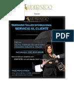 Seminario Taller Internacional Servicio Al Cliente 2015
