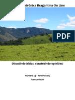 Revista Eletrônica Bragantina On Line - Janeiro/2015