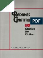 Radames Gnattali - 10 Estudos Para Violão