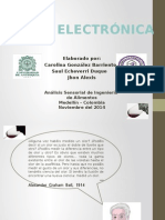 Nariz Electronica