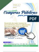 Compras Publicas Proveedores Enero 2015