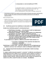 Particularităţile CM În Comparaţie Cu Comunicaţiile Prin PSTN