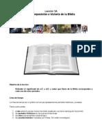 Leccio_n 3A La Composicio_n e Historia de La Biblia