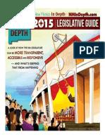 New Mexico In Depth 2015 Legislative Guide