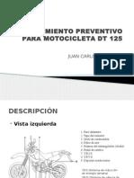 Mantenimiento Preventivo Para Motocicleta Dt 125