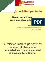 La Relación Médico Paciente