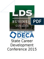 UT COL SCDC 2015 Registration