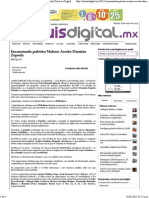 16-01-15 Encarnizada palestra Maloro Acosta - Damian Zepeda