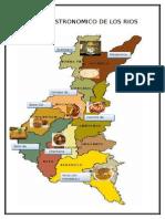 Mapa Gastronomico de Los Rios