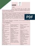 Class Guide1
