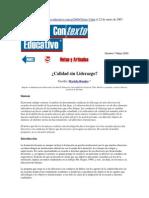 Lectura 3 CALIDAD SIN LIDERAZGO MARIELA ROSALES.pdf
