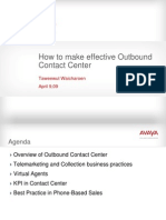 Dynamic Call Center How to Make Effective Outbound Contact