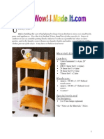 Shelf - Utility Cart