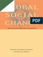 Chase Dunn Global Social Change