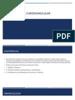 Farmacología Cardiovascular 2014