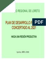 Propuestas Region Loreto