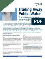 Trading Away Public Water