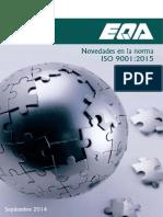 Noticia Transicion 9001:2015