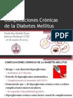 Complicaciones Crónicas DM 2013
