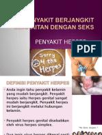 Penyakit Berjangkit Herpes