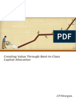Creating Value Thru Best-In-class Capital Allocation
